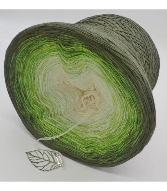 Gräser im Wind - Farbverlaufsgarn 4-fädig - Bild 5