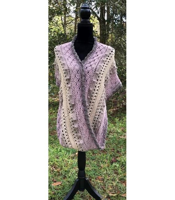 gradient yarn 4ply Rauchquarz - Beige outside 5