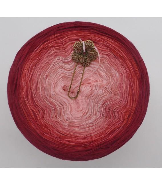 Rosenrot (розы красный) - 4 нитевидные градиента пряжи - Фото 3