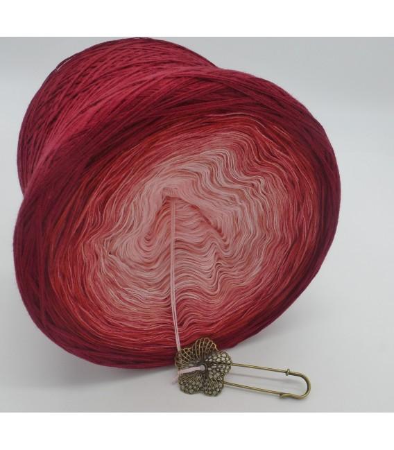 Rosenrot (розы красный) - 4 нитевидные градиента пряжи - Фото 4
