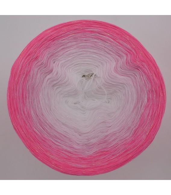 Sakura mit Perlmutt - Farbverlaufsgarn 4-fädig - Bild 3