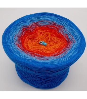 Harlekin - Farbverlaufsgarn 4-fädig - Bild 2