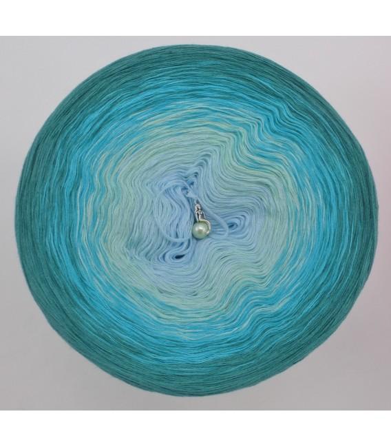 gradient yarn 4-ply Wind und Meer - ocean green outside 2