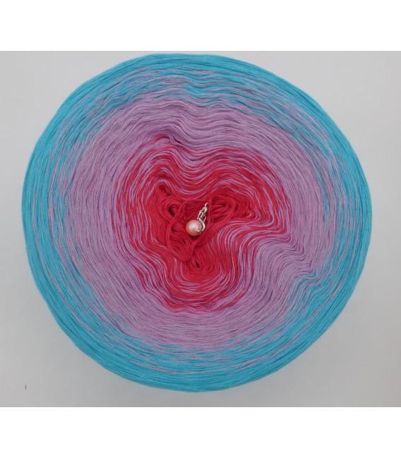 gradient yarn 4-ply Arielle - riviera outside 2