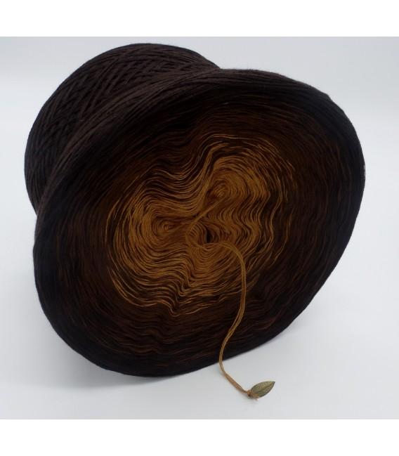 Schokokuss (шоколад поцелуй) - 4 нитевидные градиента пряжи - Фото 4