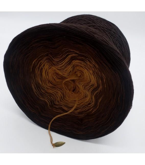 Schokokuss (шоколад поцелуй) - 4 нитевидные градиента пряжи - Фото 5