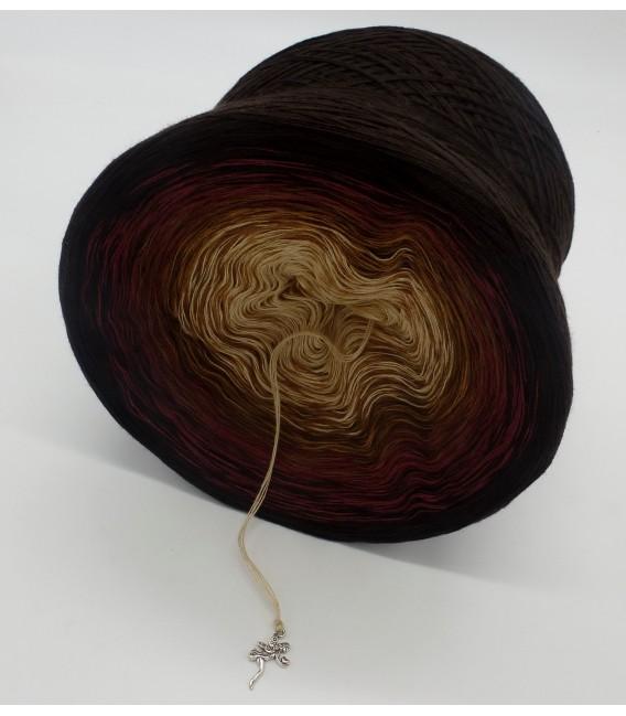 gradient yarn 4ply Mutter Erde - Chocolate outside 4