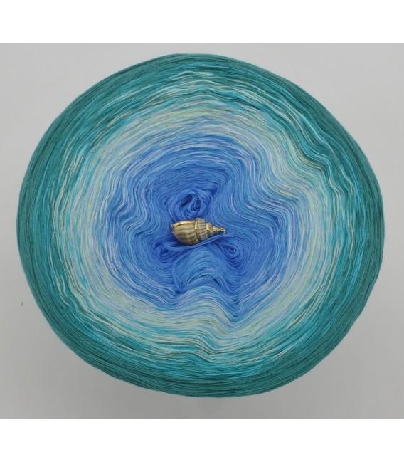 Südseeperle (perle du Sud mer) - 4 fils de gradient filamenteux - photo 3
