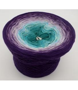 gradient yarn 4ply Geheimnisvoll - purple outside