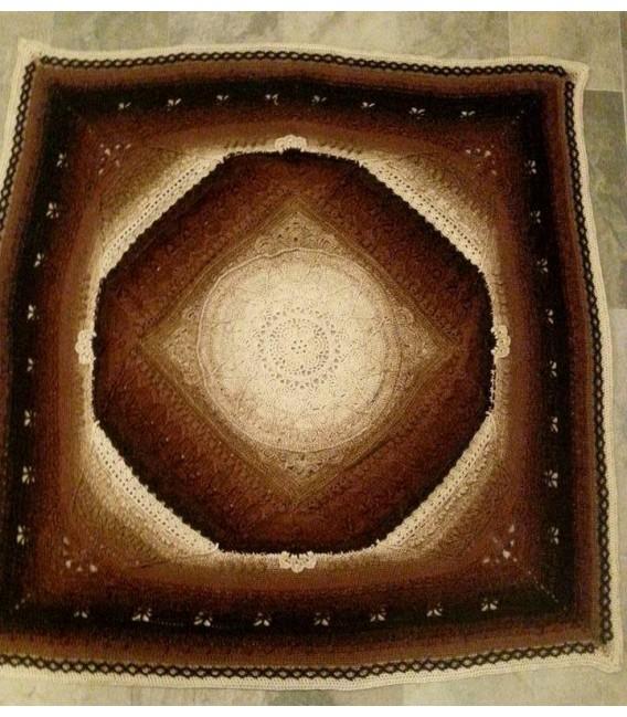 Mutter Erde (мать-земля) - 4 нитевидные градиента пряжи - Фото 10