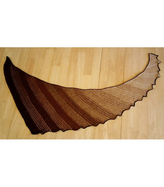 gradient yarn 4ply Mutter Erde - Chocolate outside 7