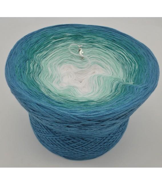 Aquamarin - Farbverlaufsgarn 4-fädig - Bild 2