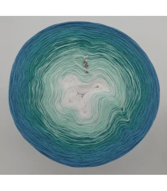 Aquamarin (аквамарин) - 4 нитевидные градиента пряжи - Фото 3