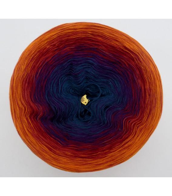 gradient yarn 4-ply Freiheit - Cognac outside 2
