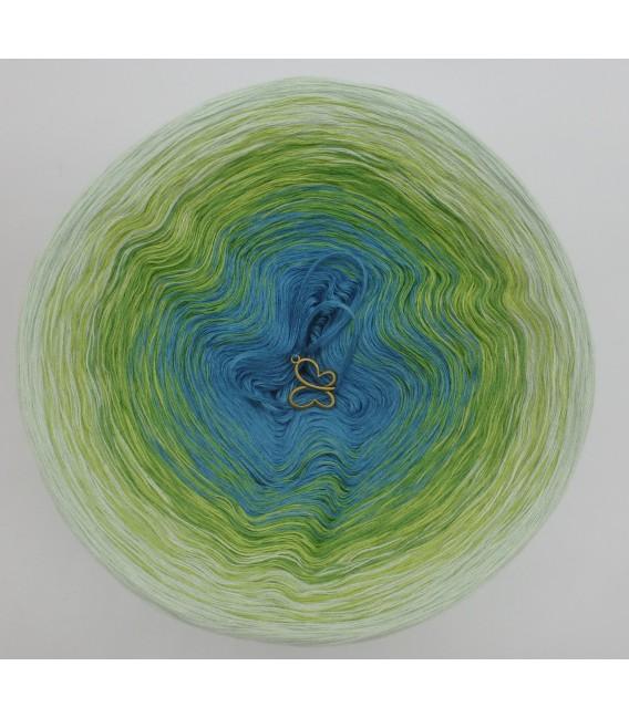 gradient yarn 4-ply Zartes Erwachen - Pea outside 2