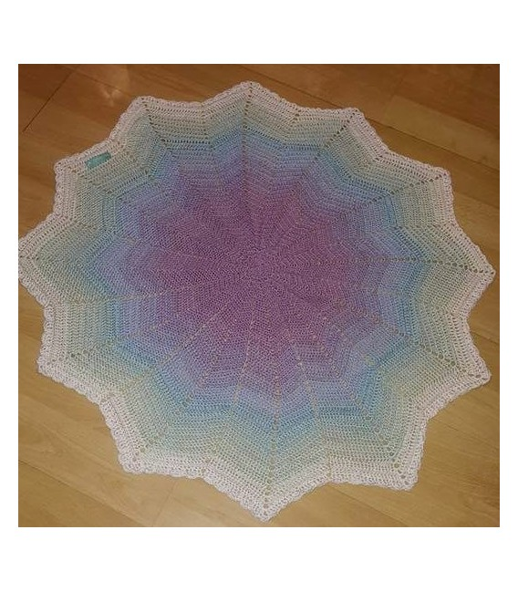 gradient yarn 4-ply Streicheleinheiten - Erika outside 5
