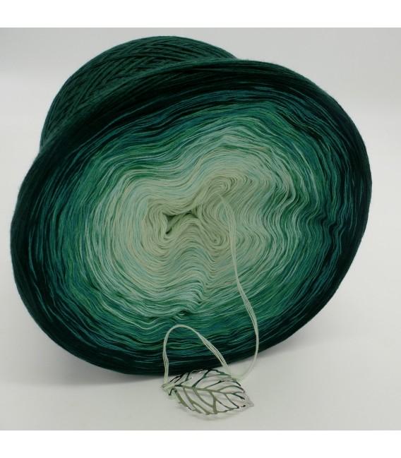 gradient yarn 4ply Tannenwald - fir green outside 3