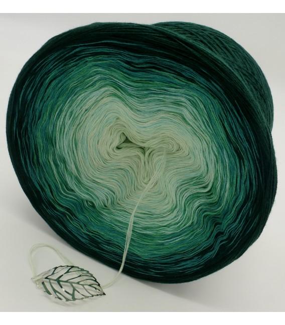 gradient yarn 4ply Tannenwald - fir green outside 4
