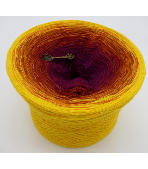 gradient yarn 4ply May Bobbel 2017 - Caramel outside