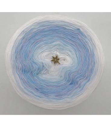 Winterwonderland (Des merveilles d'hiver) - blanc intérieur et extérieur - 4 fils de gradient filamenteux - photo 3