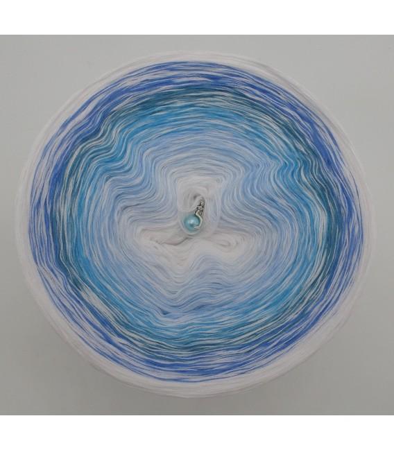 Blue Ocean (Océan bleu) - blanc en continu - 4 fils de gradient filamenteux - photo 2