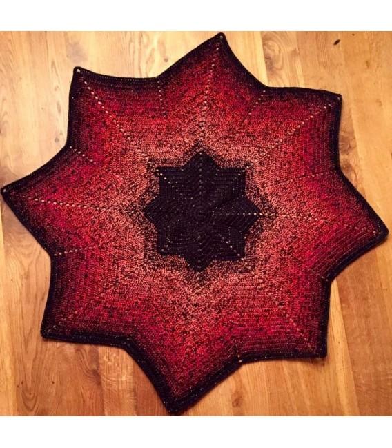 Abendrot (derniers reflets) - noir en continu - 4 fils de gradient filamenteux - photo 5
