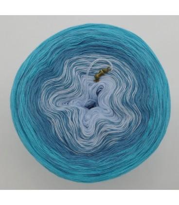 Blaue Lagune - Farbverlaufsgarn 3-fädig - Bild 3