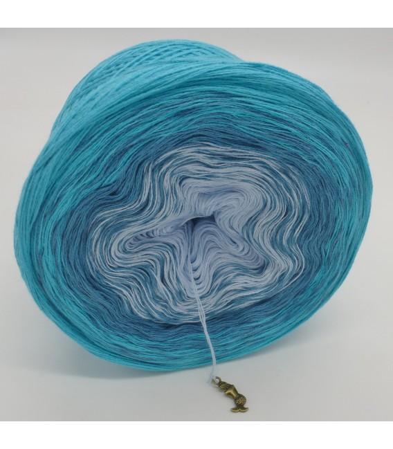 Blaue Lagune (Голубая лагуна) - 3 нитевидные градиента пряжи - Фото 4