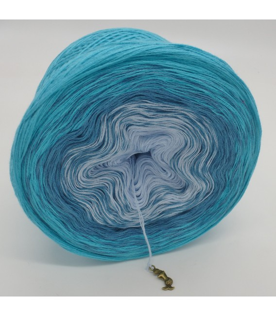 Blaue Lagune - Farbverlaufsgarn 3-fädig - Bild 4