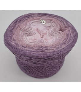 gradient yarn 3ply Angel Dust 3F - violet outside