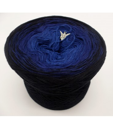 Blue Darkness (синий мрак) - 3 нитевидные градиента пряжи - Фото 2