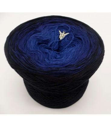 Blue Darkness - 3 ply gradient yarn image 2