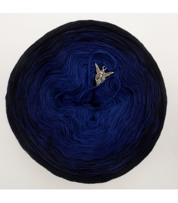 Blue Darkness (синий мрак) - 3 нитевидные градиента пряжи - Фото 3
