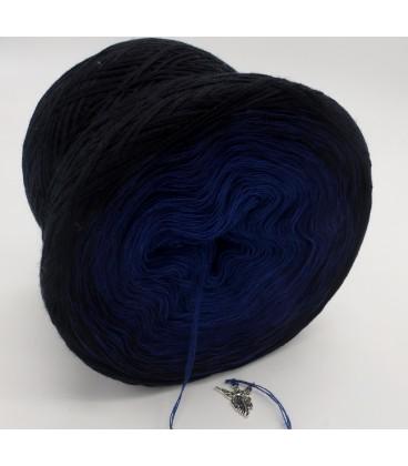 Blue Darkness (синий мрак) - 3 нитевидные градиента пряжи - Фото 4