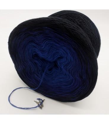 Blue Darkness (синий мрак) - 3 нитевидные градиента пряжи - Фото 5