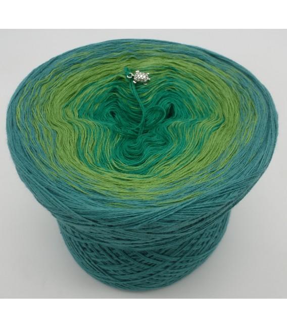 gradient yarn 3ply Froschkönig 3F - ocean green outside