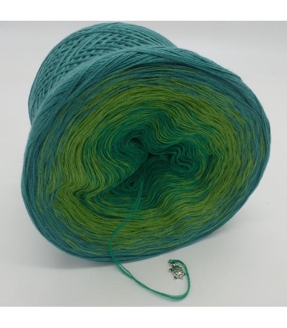 gradient yarn 3ply Froschkönig 3F - ocean green outside 3