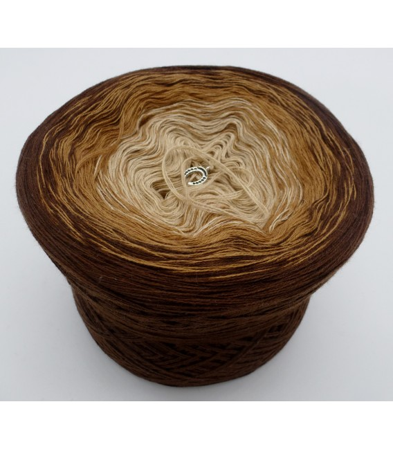 Haselnußstrauch - 3 ply gradient yarn image 2