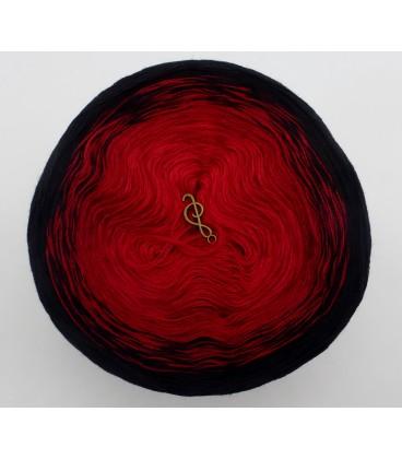 Höllenfeuer - 3 ply gradient yarn image 3