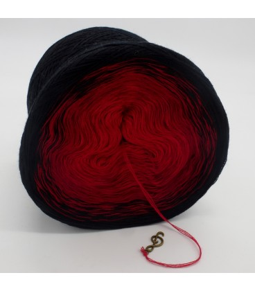 Höllenfeuer - 3 ply gradient yarn image 4