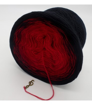 Höllenfeuer - 3 ply gradient yarn image 5