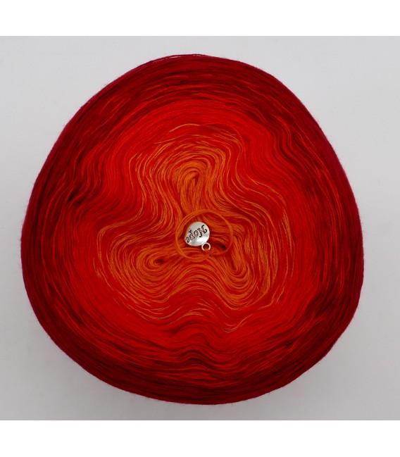 Kaminfeuer - Farbverlaufsgarn 3-fädig - Bild 3