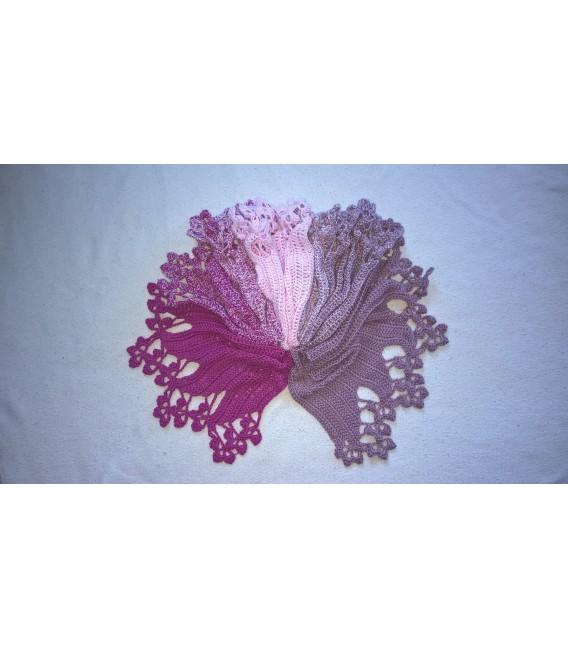 Himbeereis - Farbverlaufsgarn 3-fädig - Bild 10