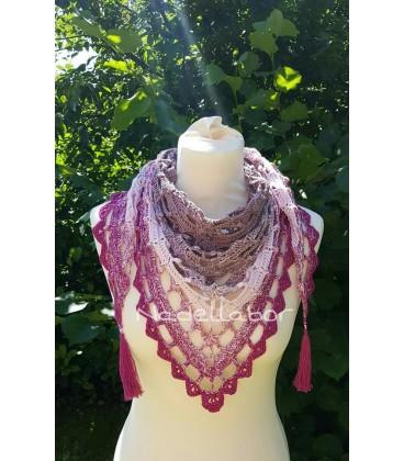 Himbeereis - 3 ply gradient yarn image 11