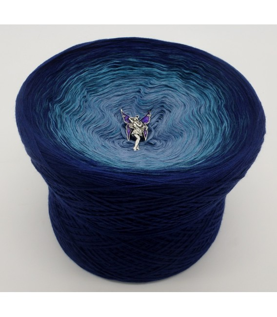 Blauer Engel (синий ангел) - 4 нитевидные градиента пряжи - Фото 2