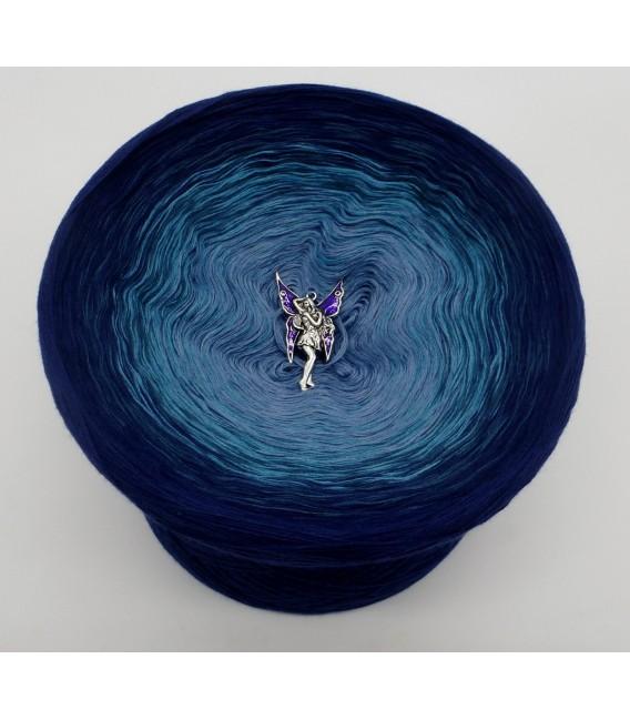 Blauer Engel (синий ангел) - 4 нитевидные градиента пряжи - Фото 3