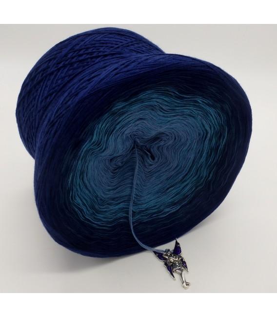 Blauer Engel (синий ангел) - 4 нитевидные градиента пряжи - Фото 5