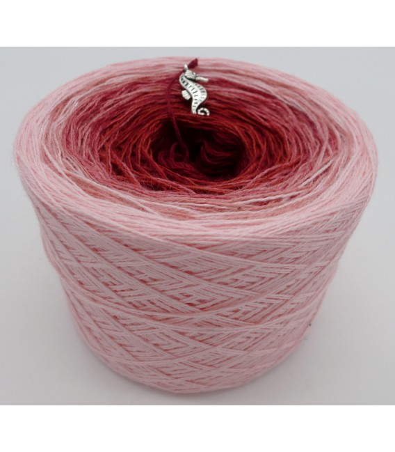 Röschen Rot - 2 ply gradient yarn image 2