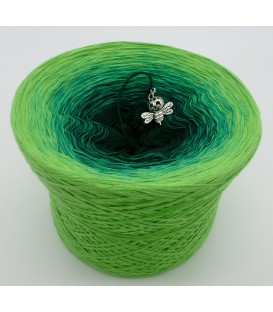 gradient yarn Frühlingsboten - Apple green outside