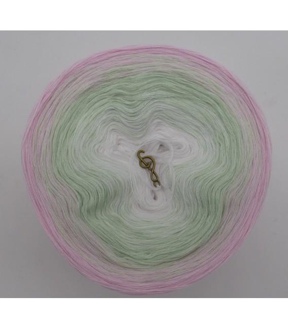 Zarte Lilienknospe - Farbverlaufsgarn 3-fädig - Bild 3